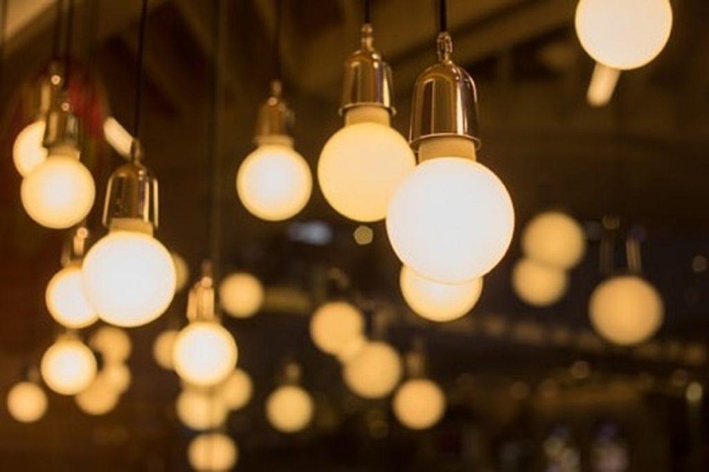 Verschillende soorten lampen