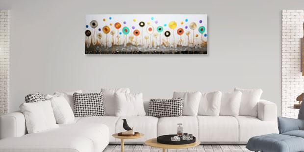 Schilderijen om je huis op te vrolijken vrijetijdshuis for Schilderij woonkamer