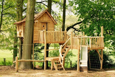 maat gemaakte boomhut in je tuin