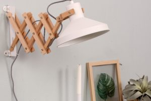 schaarlamp industrieell interieur