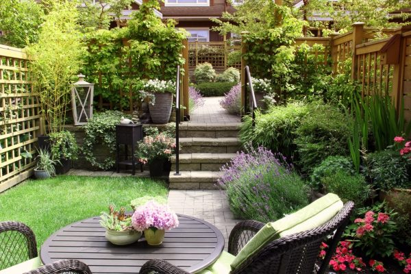 tuin zelf bestraten