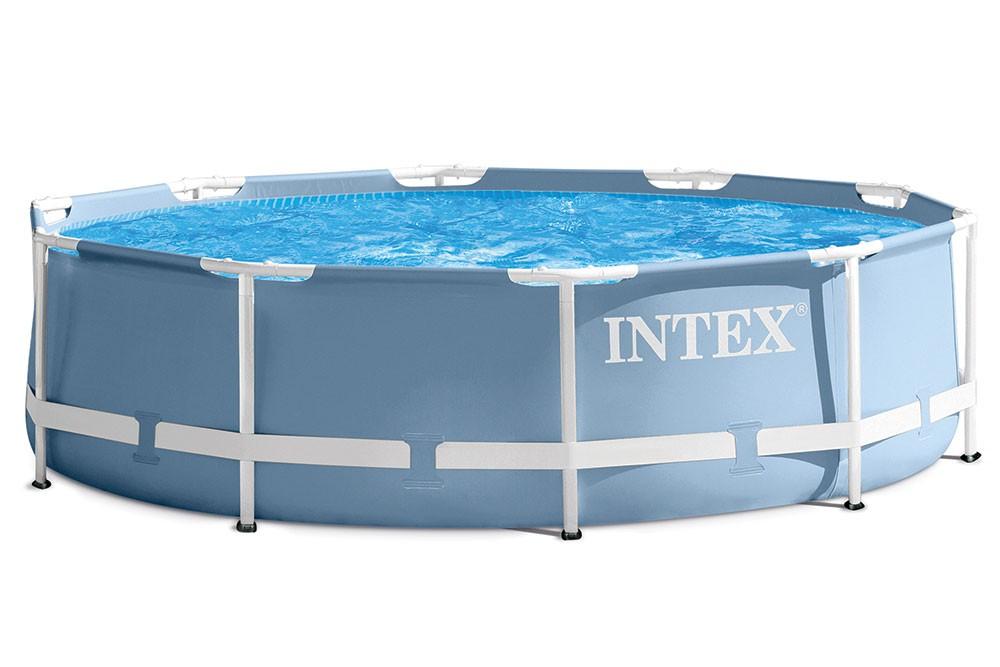 opzet zwembad van intex