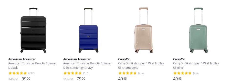 Koffers in soorten en maten