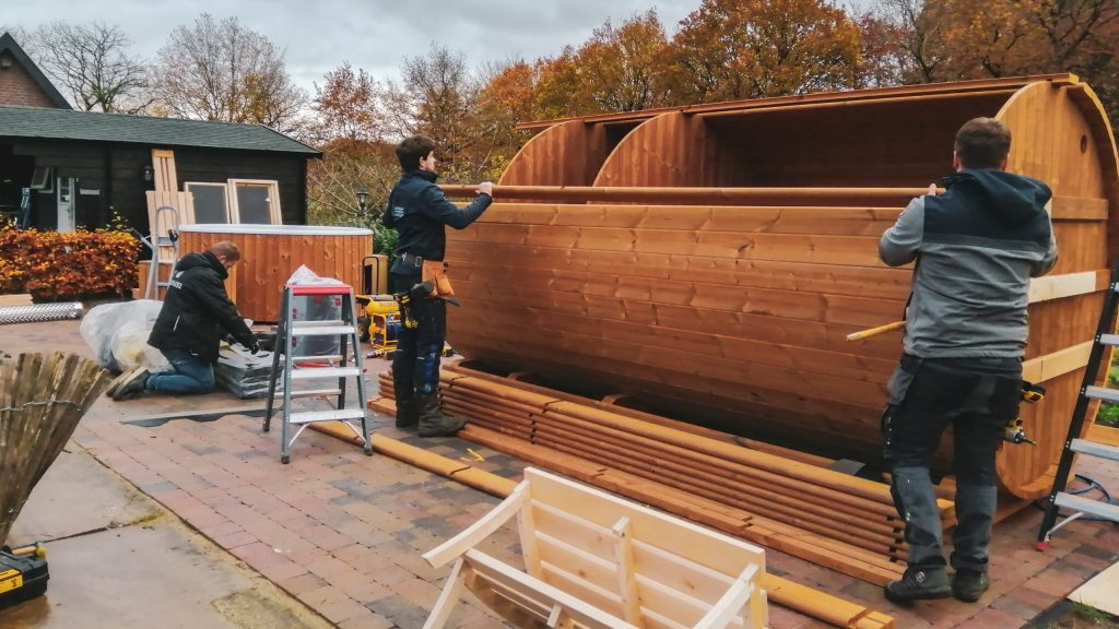 Een sauna zelf bouwen