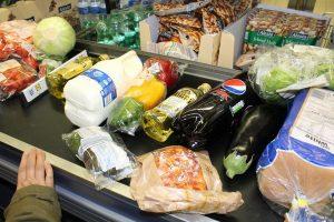 Bezorgen van boodschappen door supermarkten