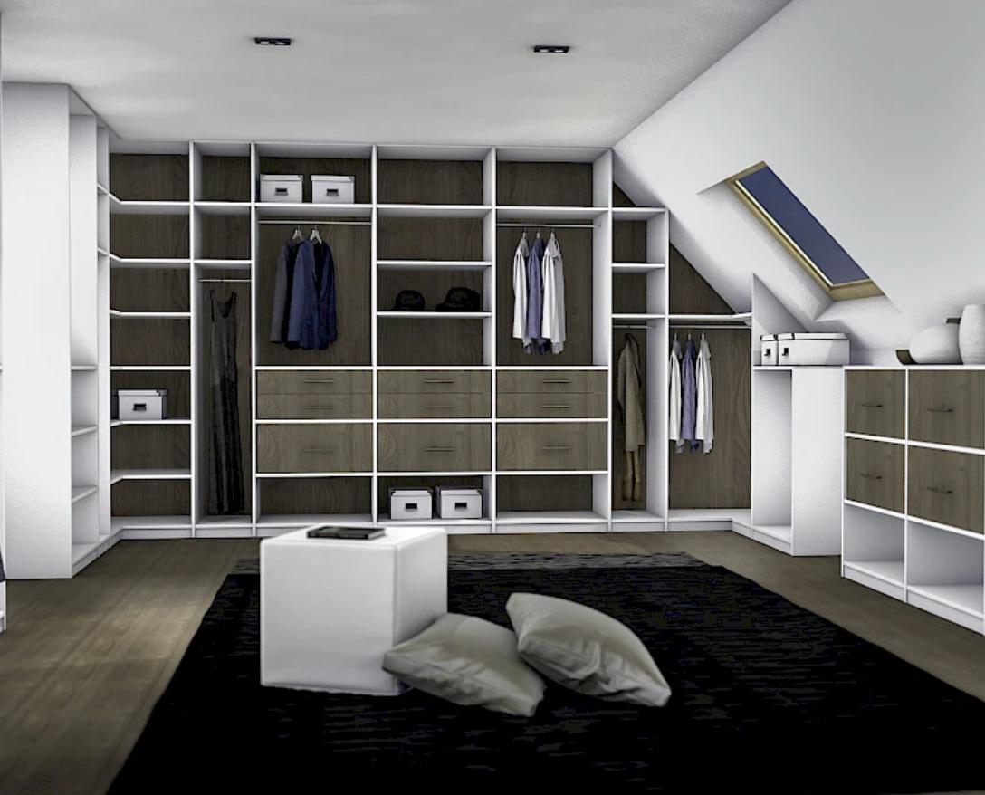 inloopkast of walk-in closet