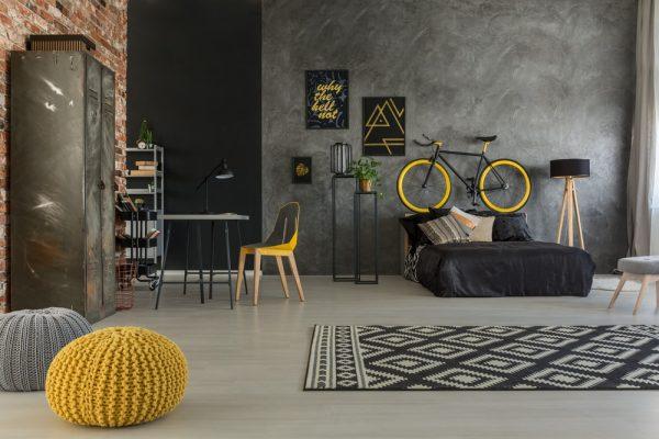 huiskamer industrieel