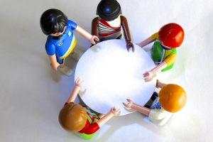 Ruimte besparen met een ovale tafel